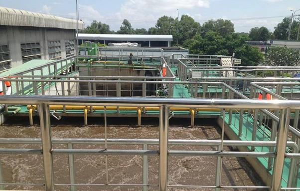 Xây dựng công trình xử lý nước thải