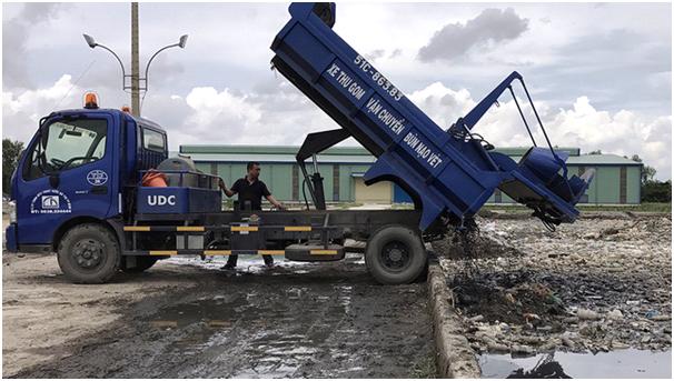 Dịch vụ xử lý bùn thải Vĩnh Long chuyên nghiệp