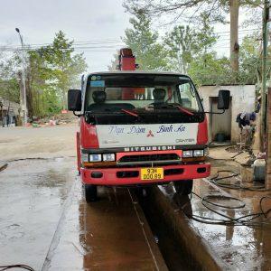 dịch vụ xe cẩu tại Bình Phước